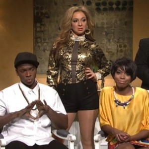 Jay Z, Beyonce & Solange - SNL Spoof
