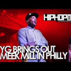 YG - Brings Out Meek Mill In Philly