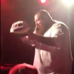 Action Bronson - Knocks Out Fan Who Tried To Rush Stage