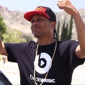 """DJ Quik f. David Blake & Bishop Lamont - """"Trapped On The Track"""""""