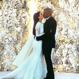 Instagram Flexin': Kardashian-West Wedding Photo Breaks Instagram Record