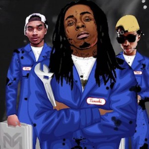 "Lil Wayne - ""Tina Turn Up Needs A Tune Up"" (In-Studio Performance)"