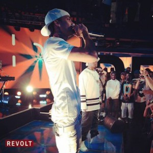 "Hit-Boy & Nipsey Hussle - Perform ""Alert"" At Revolt Live"