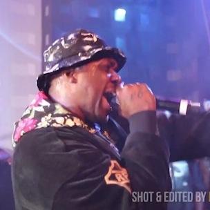 Smoke DZA - Brings Out Joey Bada$$ At SOBs