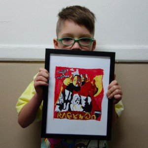 7-Year-Old Visual Artist Yung Lenox Makes Major West Coast Gallery Debut