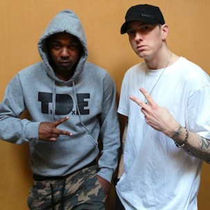 "Eminem On Kendrick Lamar: ""He Raps To Be The Best Rapper In The World"""