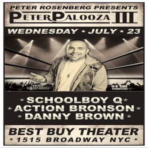 #PeterPalooza Concert Ticket Giveaway