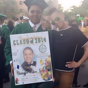 The Notorious B.I.G.'s Son, Christopher Wallace Jr., Graduates High School