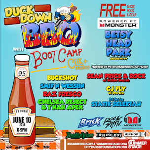 Duck Down BBQ With Boot Camp Clik 2014 Line-Up & Date Confirmed