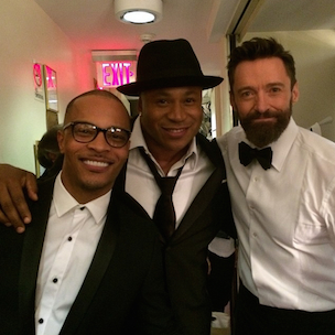 "LL Cool J, T.I., Hugh Jackman Perform ""Music Man"" At Tony Awards"