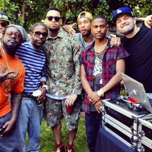 Instagram Flexin': G-Unit Reunion & Chris Brown's Welcome Home Party