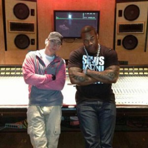 Tweets Is Watching: Eminem & Busta Rhymes In The Studio