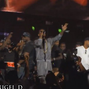 "Fabolous & 50 Cent - Debut ""Cuffin' Season (Remix)"" At Summer Jam 2014"