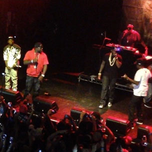 """G-Unit - Performs """"0 to 100 Freestyle"""" In NYC"""