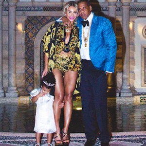 "Beyonce Wishes Jay Z ""Happy Father's Day"" With Blue Ivy Picture"
