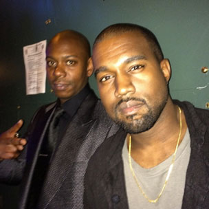 Instagram Flexin': Kanye West Delivers Surprise Performance At Dave Chappelle's Show