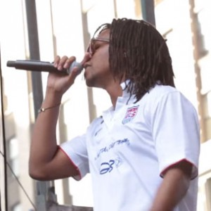 Lupe Fiasco & 50 Cent -  Fan Appreciation Day: USMNT in Times Square