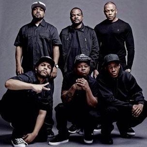 Tweets Is Watching: Dr. Dre & Ice Cube Share Upcoming N.W.A. Biopic Details