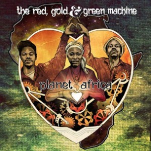 The Red, Gold & Green Machine - Alarm Clock