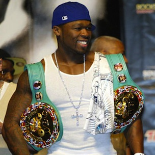 50 Cent Celebrates Birthday, SMS On ESPN Boxing Bash With G-Unit