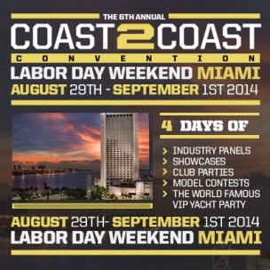 "Coast 2 Coast Convention ""VIP"" Giveaway"