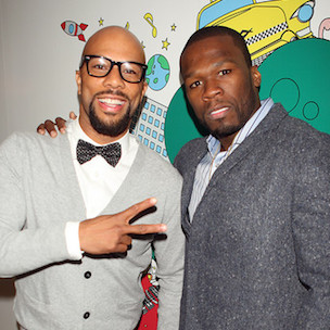 "50 Cent Says He & Common Have ""Big Things To Come"""