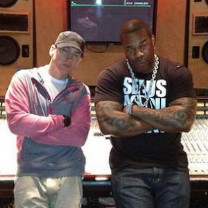 "Eminem Was Competitive On ""Calm Down,"" Busta Rhymes Says"