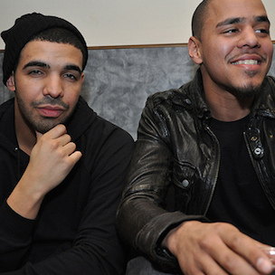 """Drake Calls Himself & J. Cole The """"Only Two Kings"""" In Rap"""