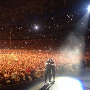 Instagram Flexin': Eminem Becomes First Rapper To Headline Wembley Stadium, Brings Out Dr. Dre