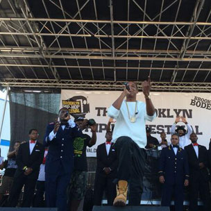 Tweets Is Watching: Jay Z Joins Jay Electronica At 2014 Brooklyn Hip Hop Festival