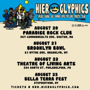Hieroglyphics Concert Ticket Giveaway