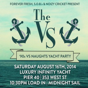 The VS 90s vs Naughts Yacht Party Giveaway