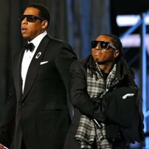 "Lil Wayne References Jay Z In ""Dusse,"" ""Grindin"" Songs"