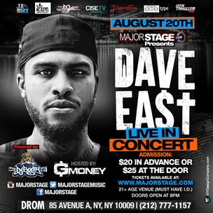 Dave East Concert Ticket Giveaway