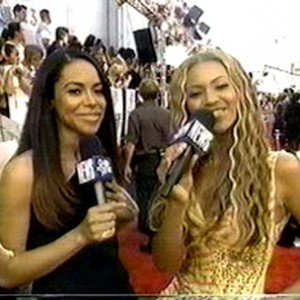 Beyonce Interviews Aaliyah - On The Red Carpet Of The MTV Movie Awards