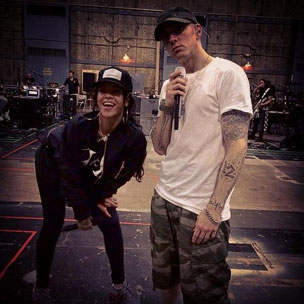 "Tweets Is Watching: Eminem & Rihanna Prepare For ""The Monster Tour"""