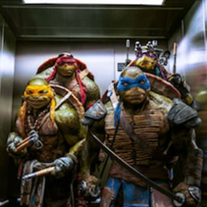 Teenage Mutant Ninja Turtles - Beatbox In The Elevator In Movie Scene