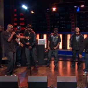 """Wu-Tang Clan - Performs """"Triumph"""" & New Single """"Ron O'Neal"""" (Live On The Daily Show)"""