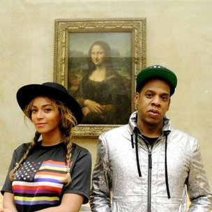 Jay Z & Beyonce Take Private Tour Of Louvre Museum