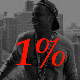 """The One Percent: Does 2014 Mark Hip Hop's """"Members Only"""" Platinum Plaque Era?"""