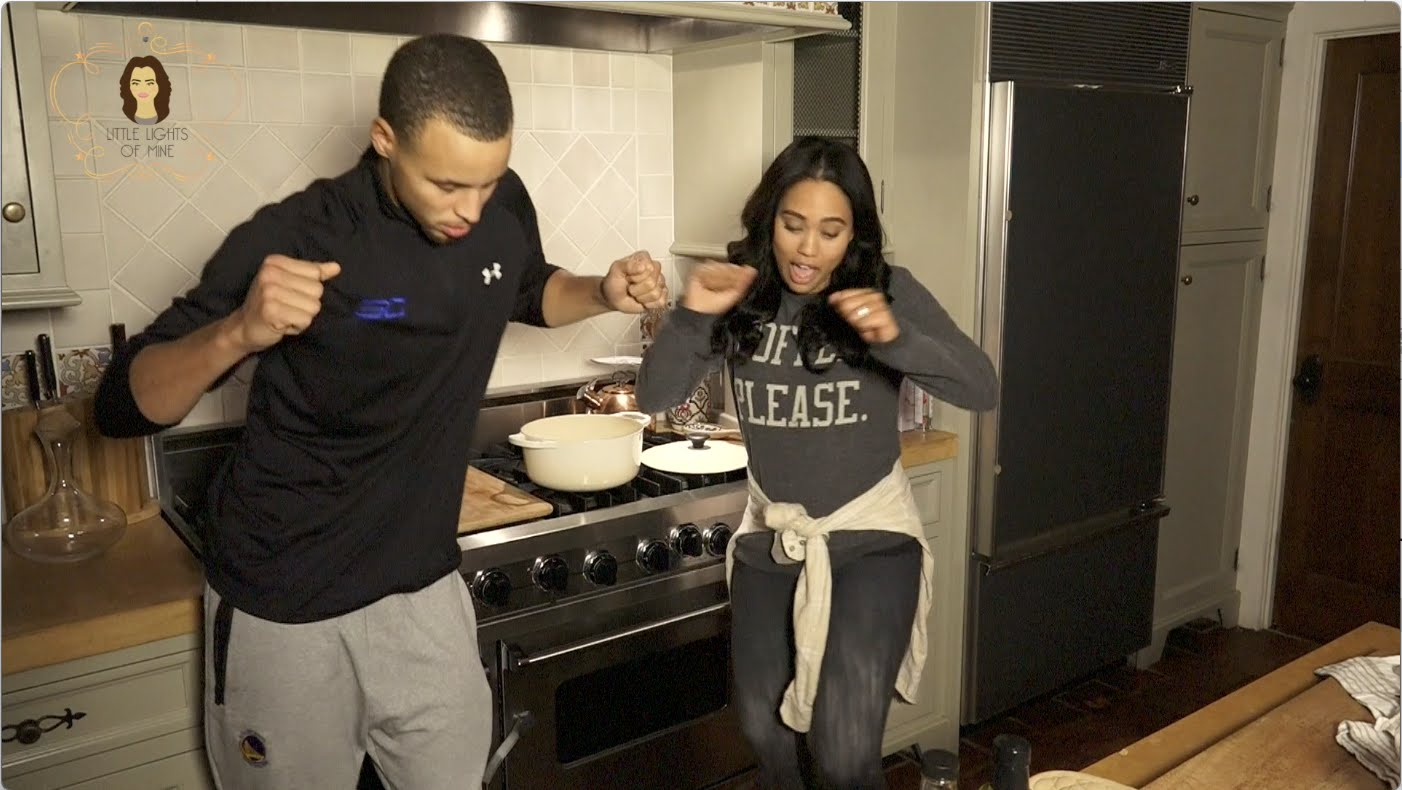 "Stephen Curry's Wife Ayesha Remixes Drake's ""0 To 100″"