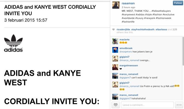 Adidas x Kanye West Unveiling