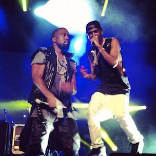 Big Sean Brings Out Kanye West, Chris Brown, J. Cole & More In LA
