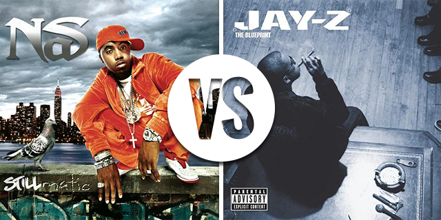 Jay z vs nas which emcee has the better post ether discography the blueprint vs stillmatic malvernweather Choice Image