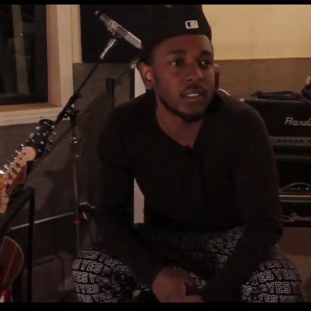 """Kendrick Lamar & Glasses Malone Talk """"Thuggin"""""""