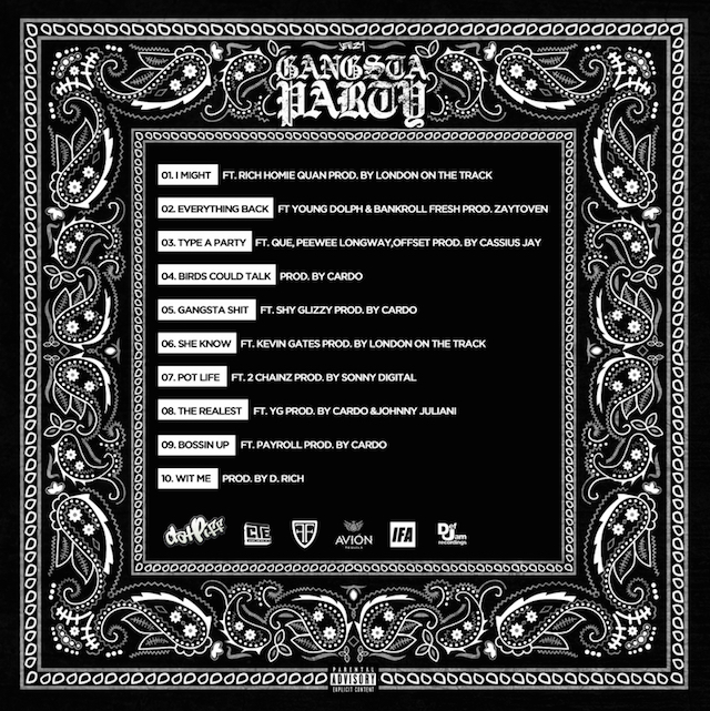 Jeezy Quot Gangsta Party Quot Release Date Cover Art Tracklist
