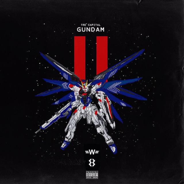 "Tre Capital ""Gundam Part II"" Release Date, Cover Art, Tracklist & EP Stream"