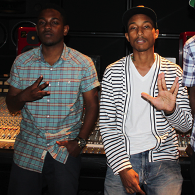 "Pharrell Williams Explains Producing Kendrick Lamar's ""Alright"""