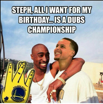 Tupaccurry all eyez on memes nba finals, tupac & future's tough opponent