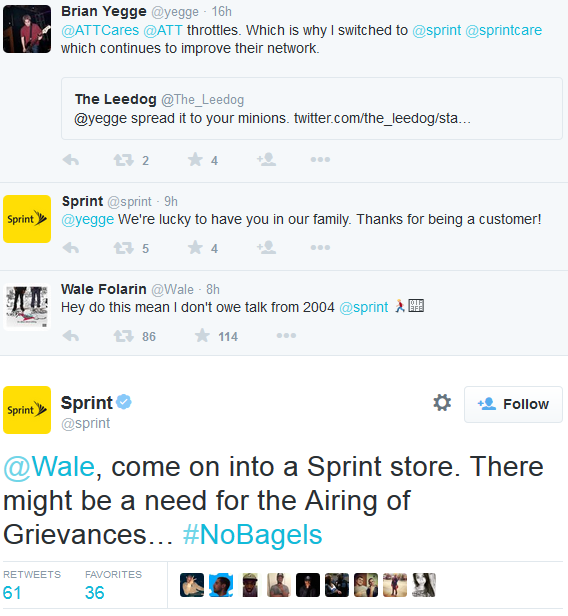 Wale Feuds With Sprint Over Twitter